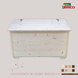 Cassapanca in Legno Massello Su Misura