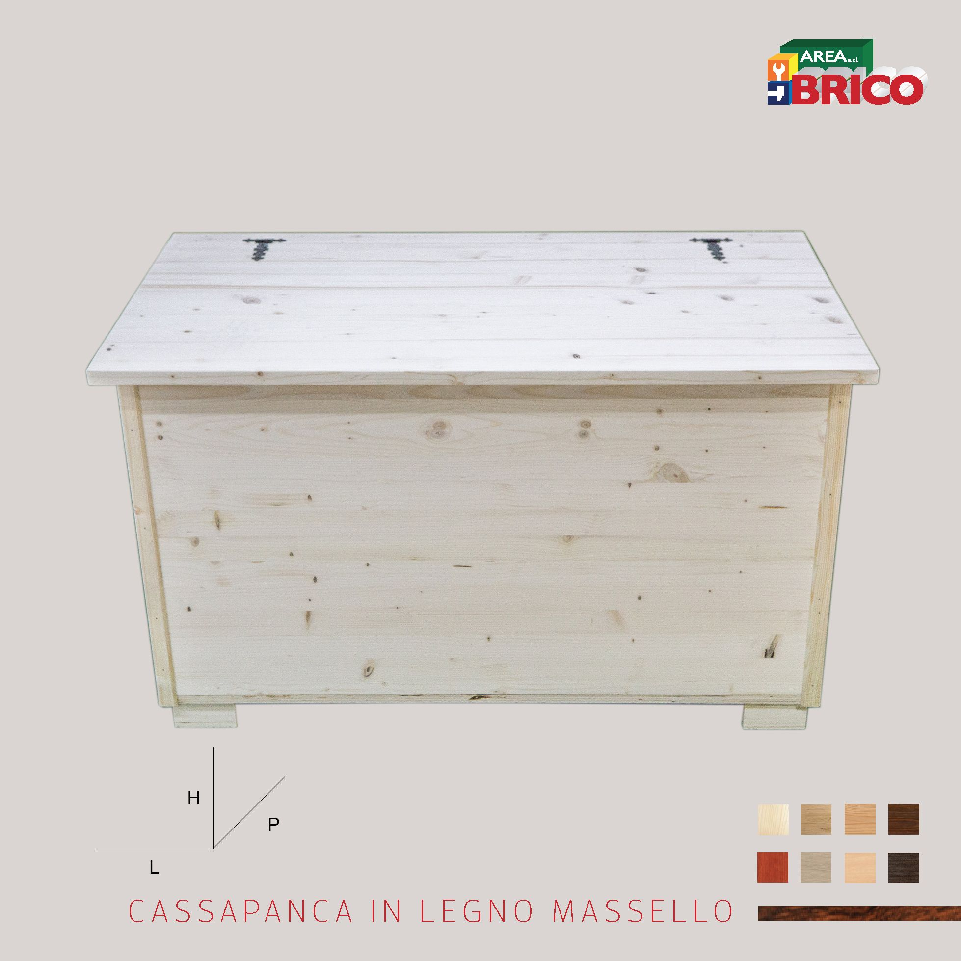 Legno Online Su Misura cassapanca in legno su misura