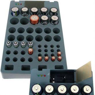 Organizza Batterie Ricaricabili con Indicatore di Carica