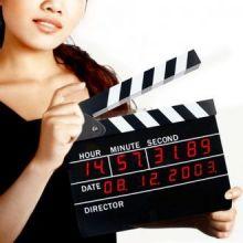 Orologio Sveglia Digitale Ciack Cinematografico