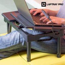 Tavolino Multifunzione per PC Portatile Laptray Pro