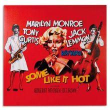Quadro Poster Di Cinema Marilyn Monroe Some Like It Hot 60 X 60