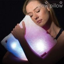 Cuscino Fosforescente Illuminato LED Glow Pillow