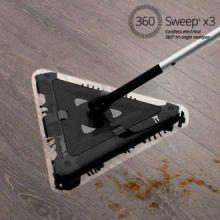 Scopa elettrica triangolare senza fili 360 Sweep