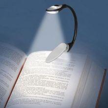 Lampada LED da lettura con Pinza