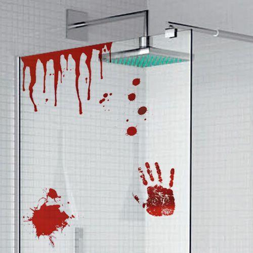 Bagno Di Sangue.Adesivi In Vinile Bagno Di Sangue