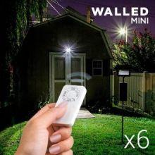 Mini Lampade a LED con Telecomando WalLED (confezione da 6)