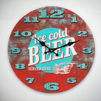 Orologio da parete Ice Cold Beer