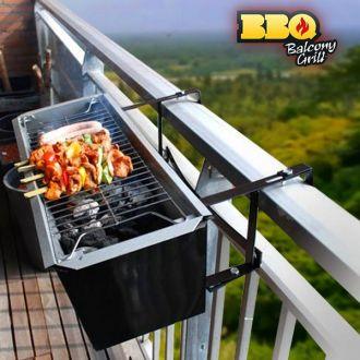 Barbeque a Carbonella per Balcone BBQ Quick