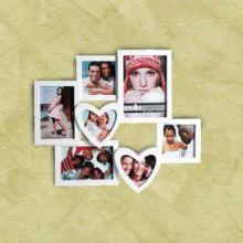 Portafoto Romantico con Cuori (7 foto)