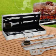 Valigetta per Accessori da Barbecue (4 pezzi)