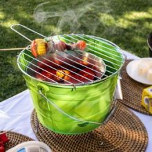 Barbecue a Carbonella Bucket