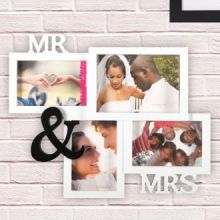Portafoto Multiplo Mr & Mrs