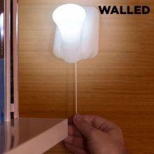 Luce a LED Portatile con cordicella Walled LB15 (confezione da 3)