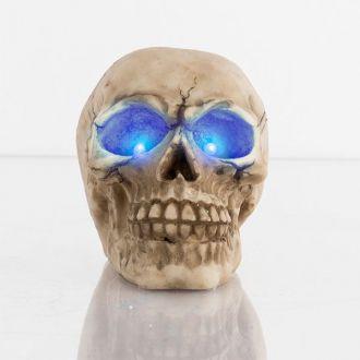 Teschio Decorativo con LED