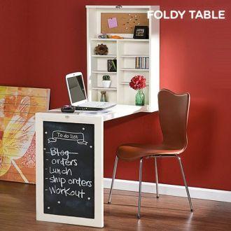 Scrittoio Ribaltabile da Parete Foldy Table W