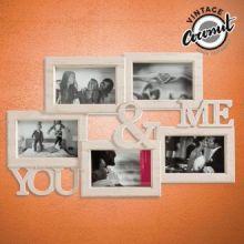 Portafoto Vintage You & Me (5 foto)