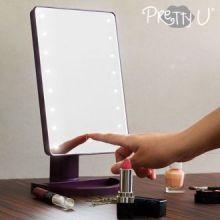 Specchio LED da Tavolo Pretty U