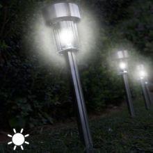 Torcia Luce Solare Circolare (confezione da 5)