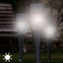 Torcia Luce Solare Quadrata (confezione da 4)