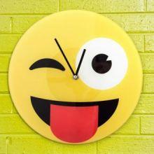 Orologio da Parete Emoticon Wink