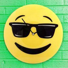 Orologio da Parete Emoticon Cool