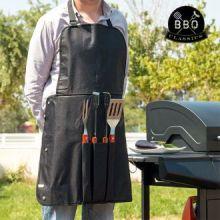 Utensili per Barbecue e Grembiule BBQ Classics