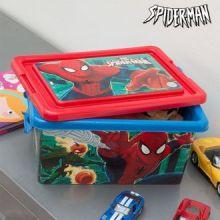 Contenitore Portagiochi Spiderman (32 x 23 cm)