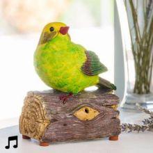Uccellino Decorativo con Suoni e Sensore di Movimento