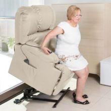 Poltrona Relax Alzapersona con Massaggio Craftenwood 6012