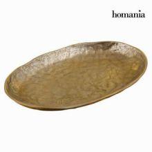 Centrotavola alluminio rotondo oro - New York Collezione by Homania