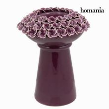 Candelabro con rose porpora - Enchanted Forest Collezione by Homania