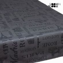 Tovaglia londra antracite - Cities Collezione by Loomin Bloom