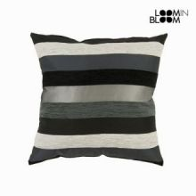 Cuscino motegi nero - Colored Lines Collezione by Loomin Bloom