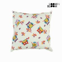 Cuscino gufi bianco by Loomin Bloom