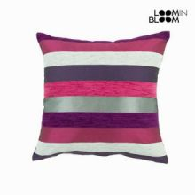 Cuscino motegi lilla - Colored Lines Collezione by Loomin Bloom