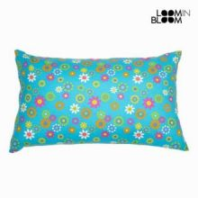 Cuscino primavera blu by Loomin Bloom