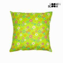 Cuscino primavera verde by Loomin Bloom
