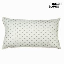 Cuscino a pois nature grigio - Little Gala Collezione by Loomin Bloom