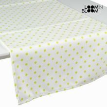 Tenda a pannello a pois nature verde - Little Gala Collezione by Loomin Bloom