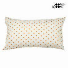 Cuscino a pois nature arancione - Little Gala Collezione by Loomin Bloom