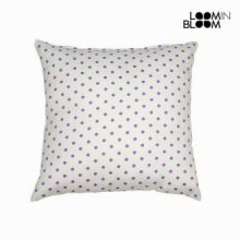 Cuscino a pois nature viola - Little Gala Collezione by Loomin Bloom