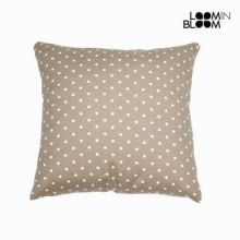 Cuscino a pois beige - Little Gala Collezione by Loomin Bloom