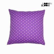 Cuscino a pois violetto - Little Gala Collezione by Loomin Bloom