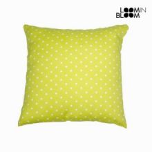 Cuscino a pois verde - Little Gala Collezione by Loomin Bloom