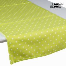 Tenda a pannello a pois verde - Little Gala Collezione by Loomin Bloom