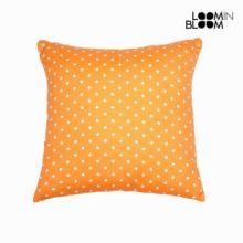 Cuscino a pois arancione - Little Gala Collezione by Loomin Bloom