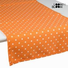 Tenda a pannello a pois arancione - Little Gala Collezione by Loomin Bloom