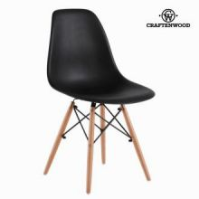 Sedia abs nera e faggio by Craften Wood