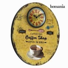 Orologio da muro ovale coffee by Homania